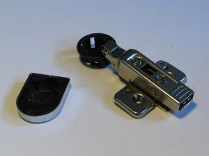 Balama sticla aplicata Clip-Top BLUM